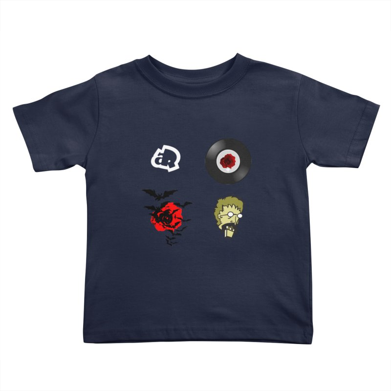4 Logo Kids Toddler T-Shirt by Turkeylegsray's Artist Shop