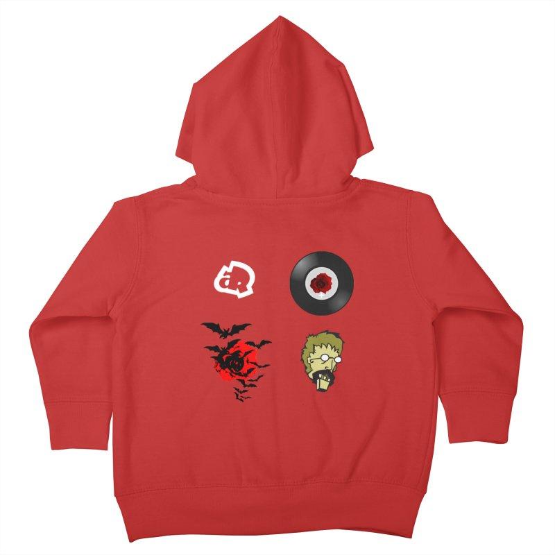 4 Logo Kids Toddler Zip-Up Hoody by Turkeylegsray's Artist Shop