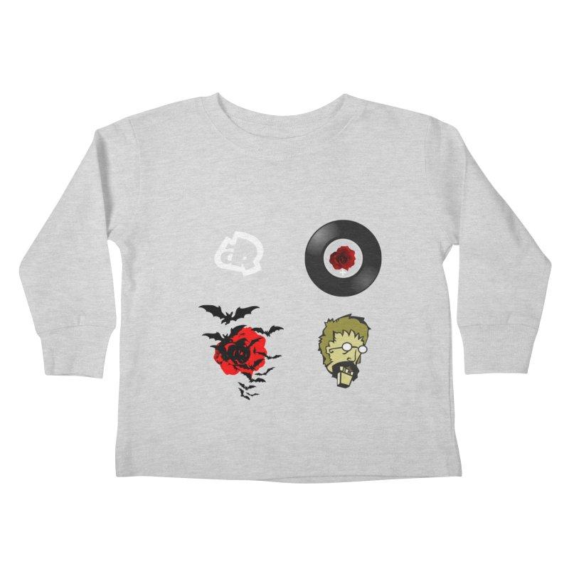 4 Logo Kids Toddler Longsleeve T-Shirt by Turkeylegsray's Artist Shop