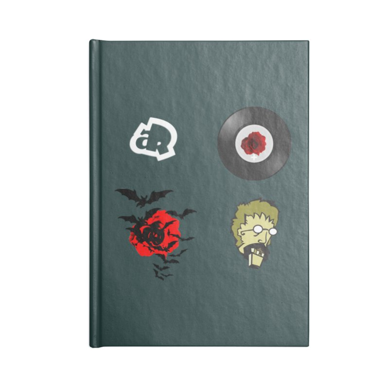 4 Logo Accessories Notebook by Turkeylegsray's Artist Shop