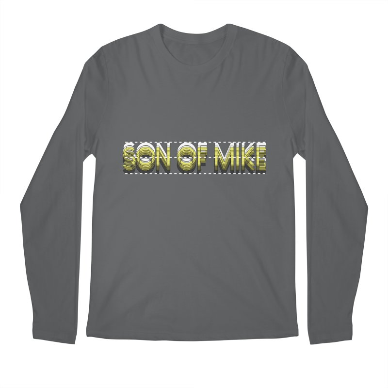 """SON OF MIKE """"Dotted Lines"""" Men's Longsleeve T-Shirt by Turkeylegsray's Artist Shop"""
