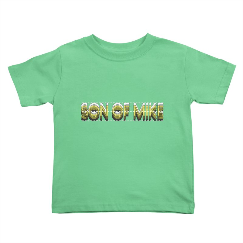 "SON OF MIKE ""Dotted Lines"" Kids Toddler T-Shirt by Turkeylegsray's Artist Shop"