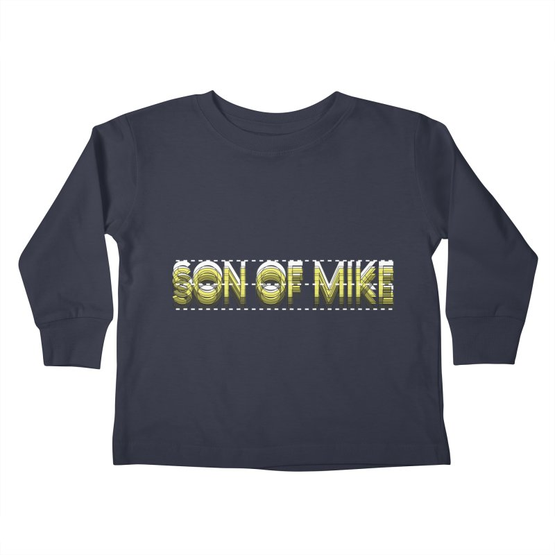 """SON OF MIKE """"Dotted Lines"""" Kids Toddler Longsleeve T-Shirt by Turkeylegsray's Artist Shop"""