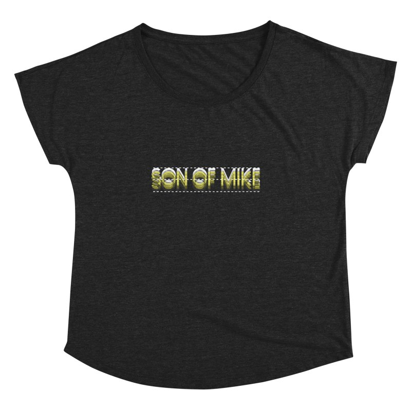 """SON OF MIKE """"Dotted Lines"""" Women's Dolman by Turkeylegsray's Artist Shop"""