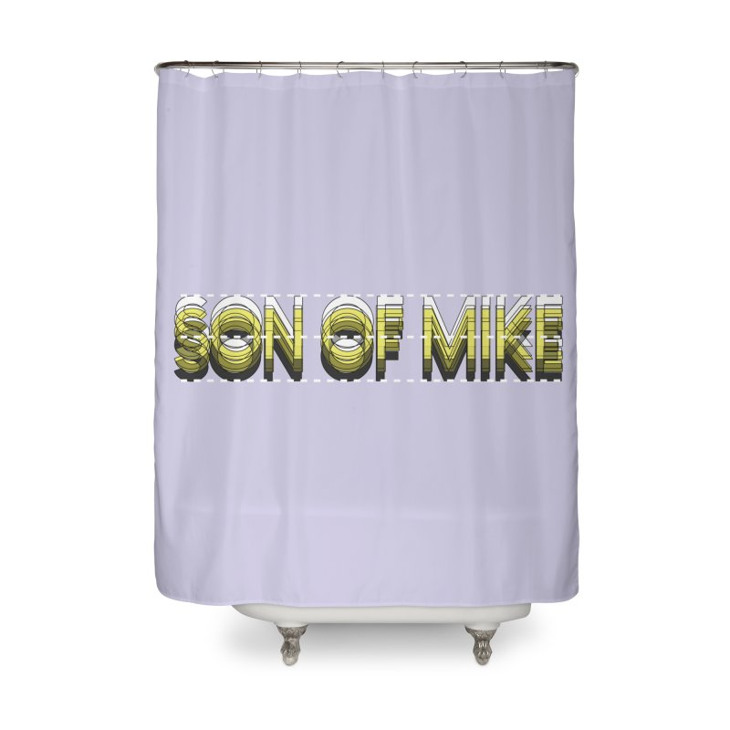 """SON OF MIKE """"Dotted Lines"""" Home Shower Curtain by Turkeylegsray's Artist Shop"""