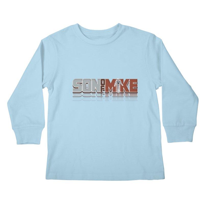 "SON OF MIKE ""Terminator"" Kids Longsleeve T-Shirt by Turkeylegsray's Artist Shop"