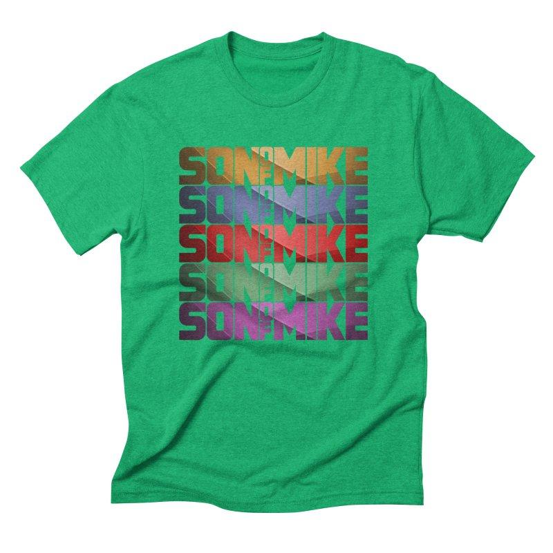 "SON OF MIKE ""Rainbow"" Men's Triblend T-Shirt by Turkeylegsray's Artist Shop"