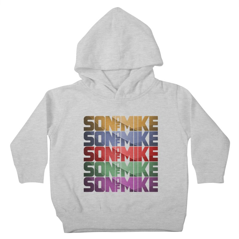 """SON OF MIKE """"Rainbow"""" Kids Toddler Pullover Hoody by Turkeylegsray's Artist Shop"""