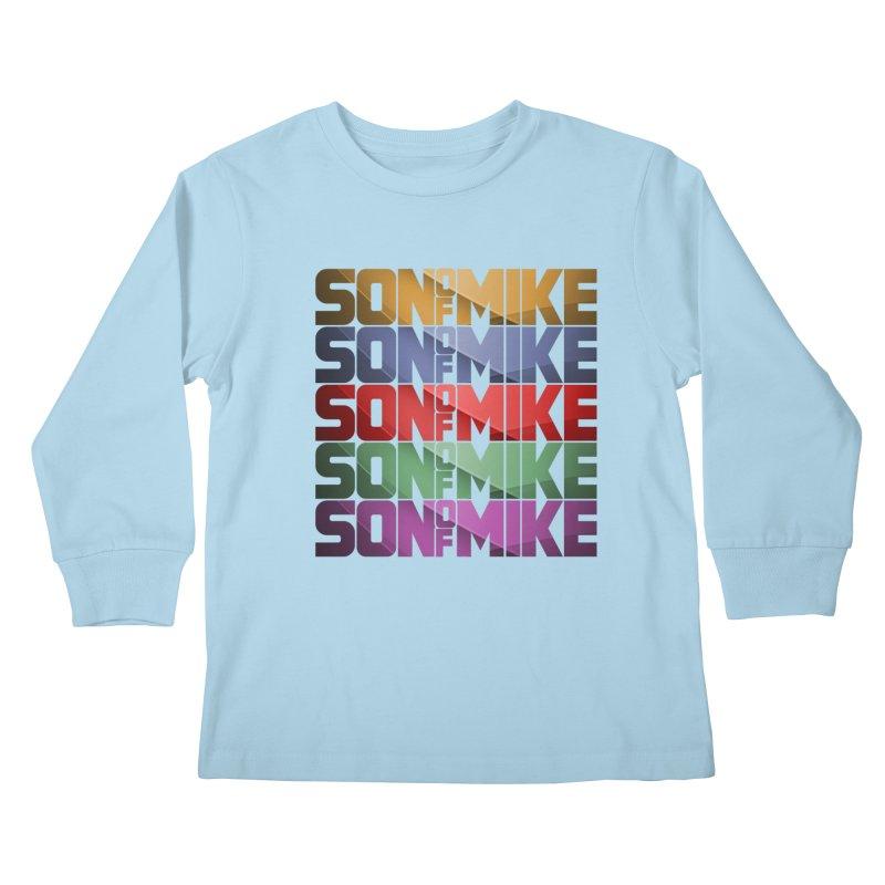 "SON OF MIKE ""Rainbow"" Kids Longsleeve T-Shirt by Turkeylegsray's Artist Shop"