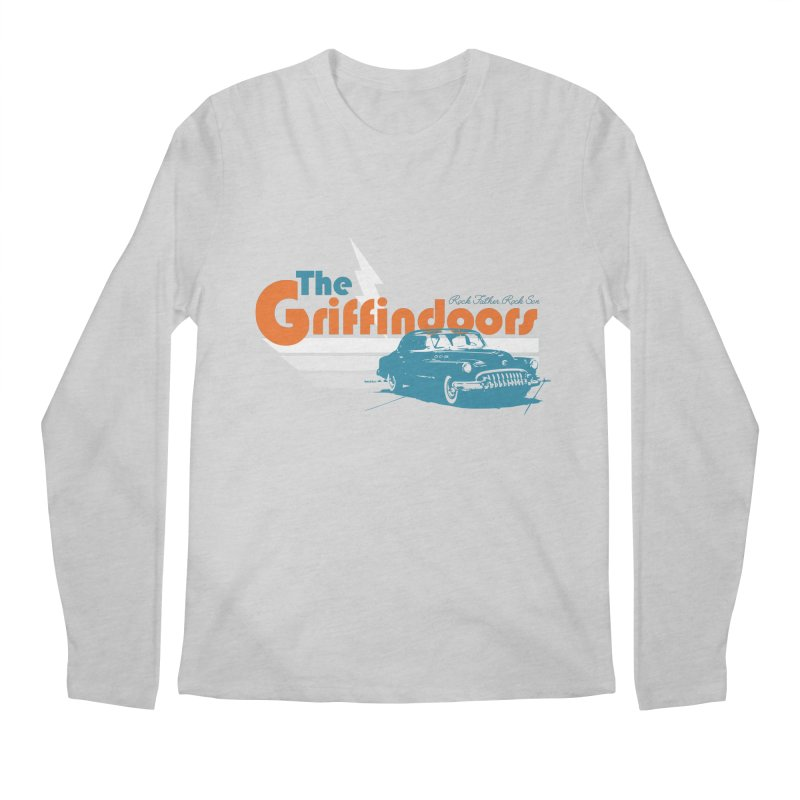 "THE GRIFFINDOORS ""Lightning"" Men's Longsleeve T-Shirt by Turkeylegsray's Artist Shop"
