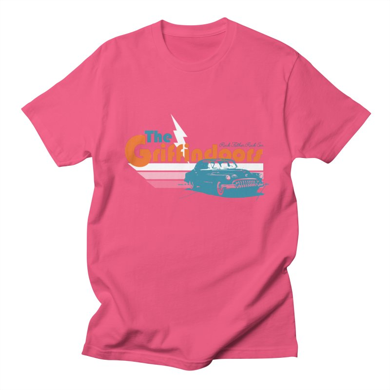 "THE GRIFFINDOORS ""Lightning"" Men's T-Shirt by Turkeylegsray's Artist Shop"