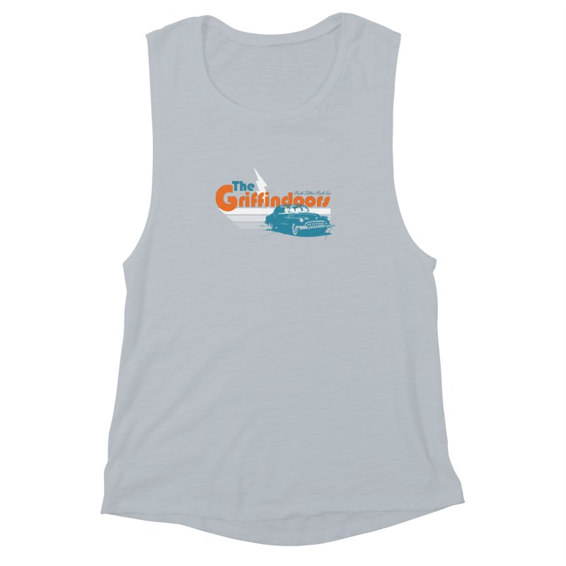 "THE GRIFFINDOORS ""Lightning"" Women's Muscle Tank by Turkeylegsray's Artist Shop"