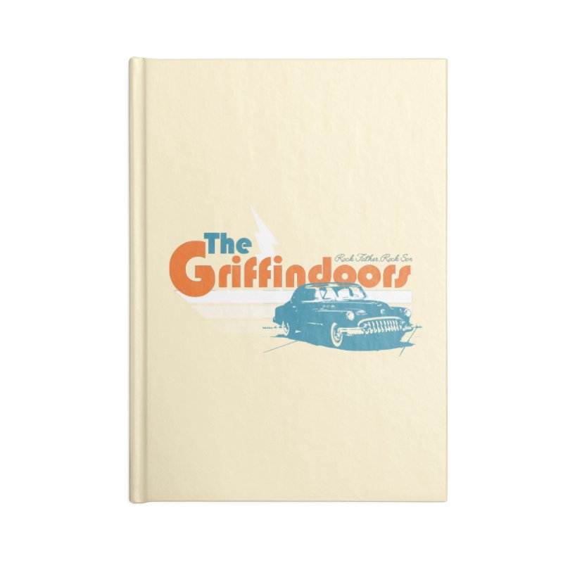 "THE GRIFFINDOORS ""Lightning"" Accessories Notebook by Turkeylegsray's Artist Shop"