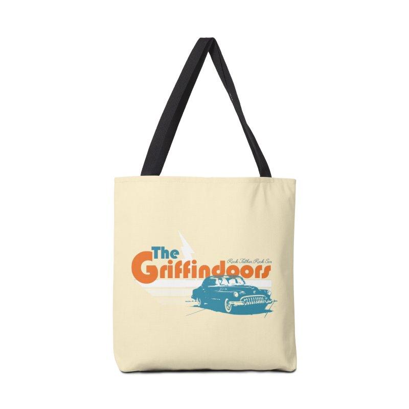 "THE GRIFFINDOORS ""Lightning"" Accessories Bag by Turkeylegsray's Artist Shop"