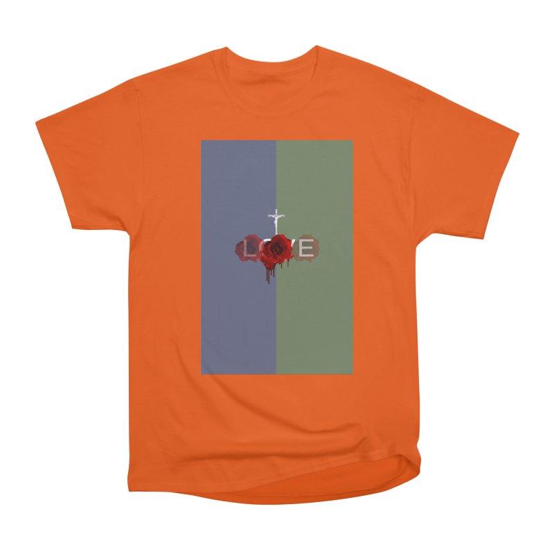 love split Men's Classic T-Shirt by Turkeylegsray's Artist Shop