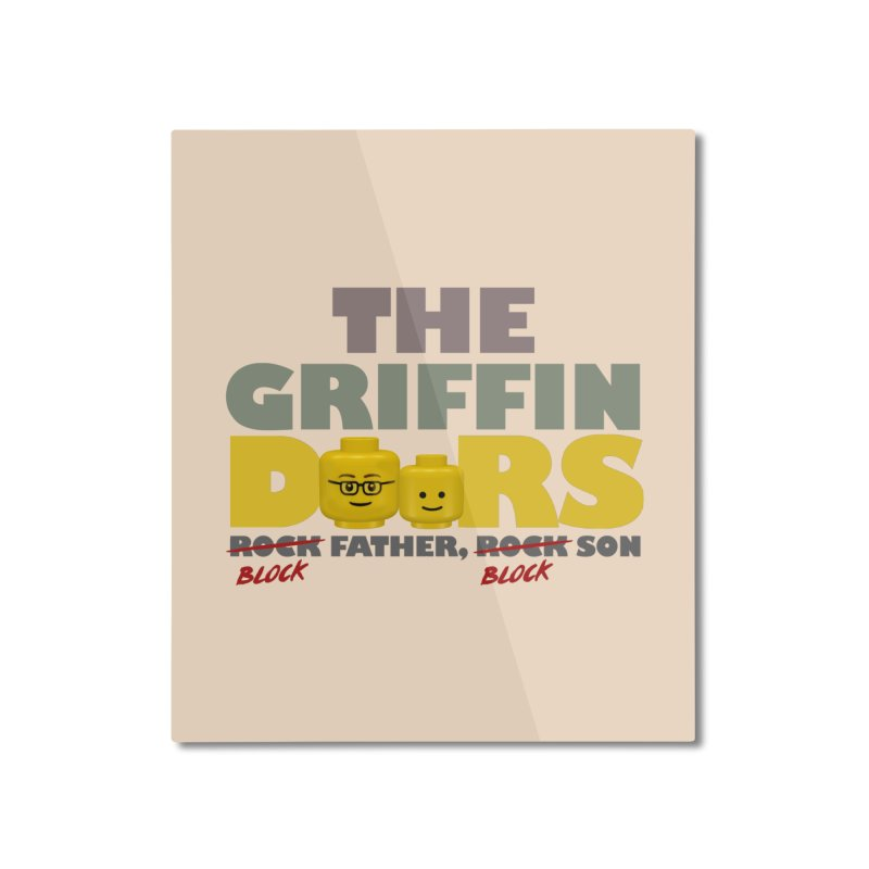 """THE GRIFFINDOORS """"Dat Lego Life"""" Home Mounted Aluminum Print by Turkeylegsray's Artist Shop"""