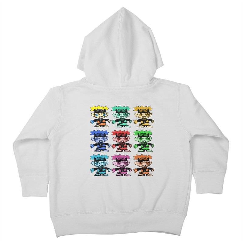 Kid Drawing! Kids Toddler Zip-Up Hoody by Turkeylegsray's Artist Shop