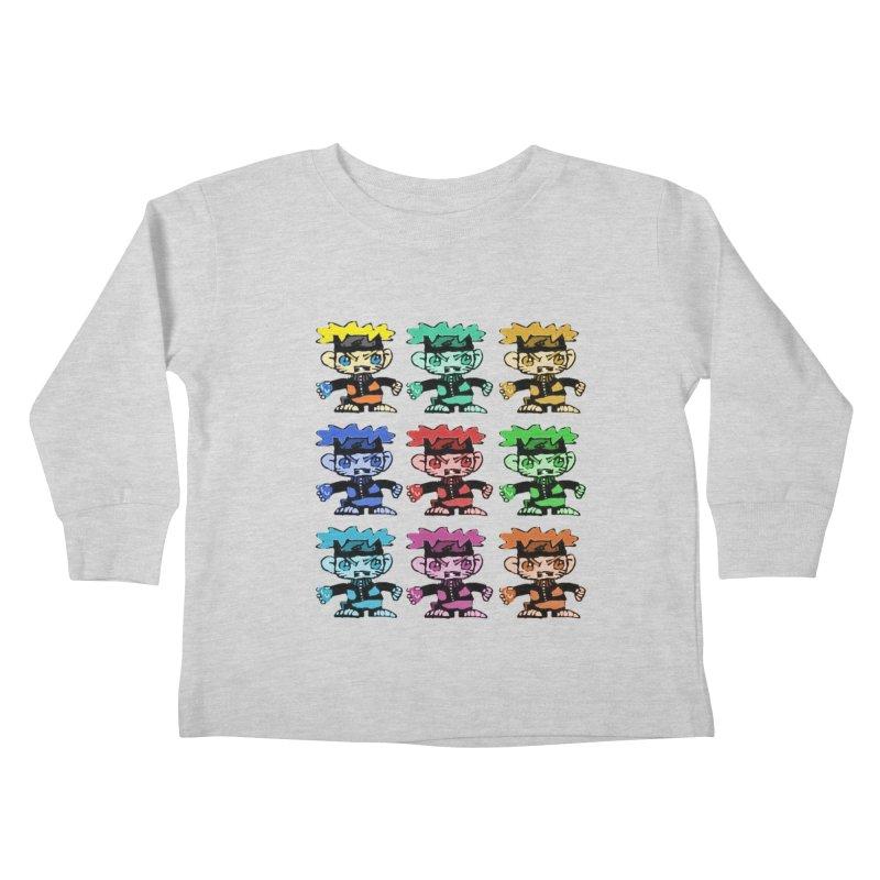Kid Drawing! Kids Toddler Longsleeve T-Shirt by Turkeylegsray's Artist Shop