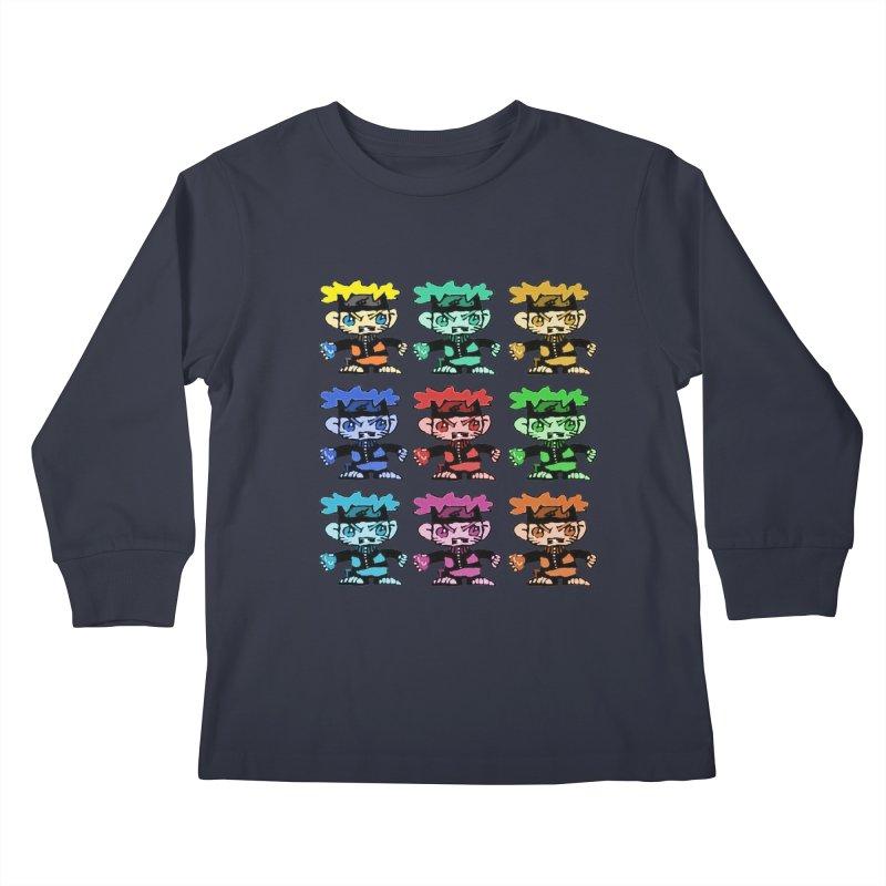 Kid Drawing! Kids Longsleeve T-Shirt by Turkeylegsray's Artist Shop