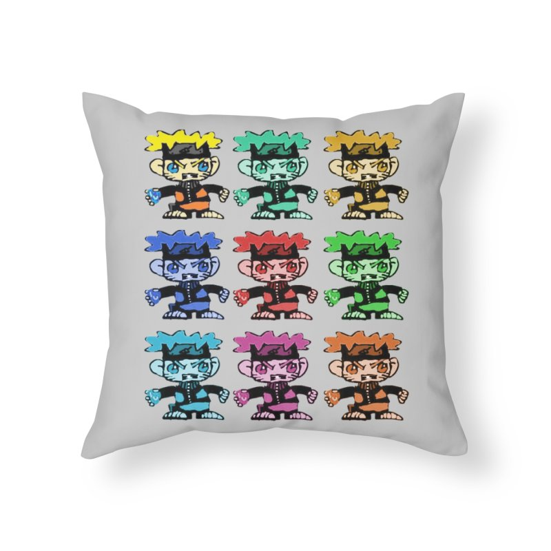 Kid Drawing! Home Throw Pillow by Turkeylegsray's Artist Shop