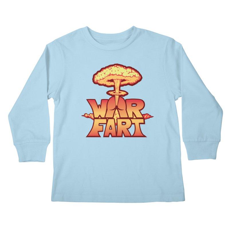 WAR FART Kids Longsleeve T-Shirt by Turkeylegsray's Artist Shop
