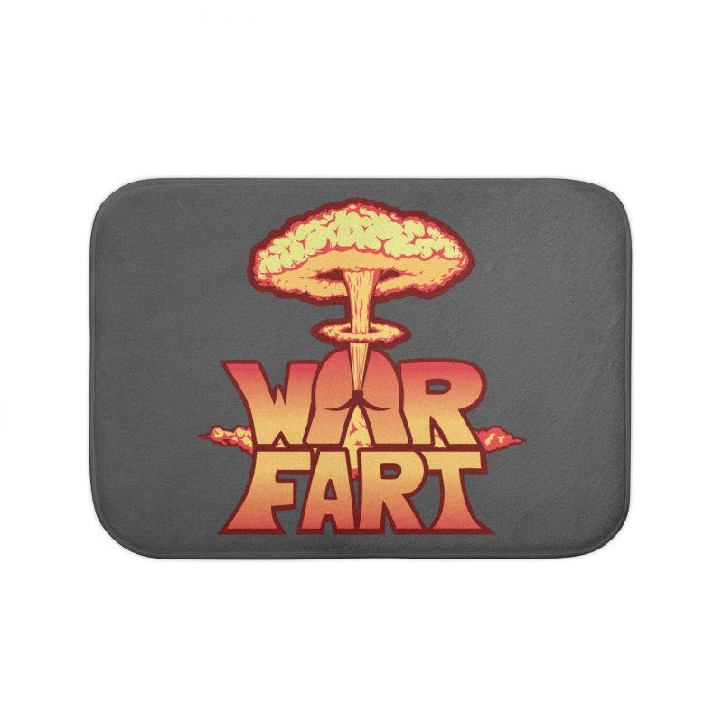 WAR FART Home Bath Mat by Turkeylegsray's Artist Shop