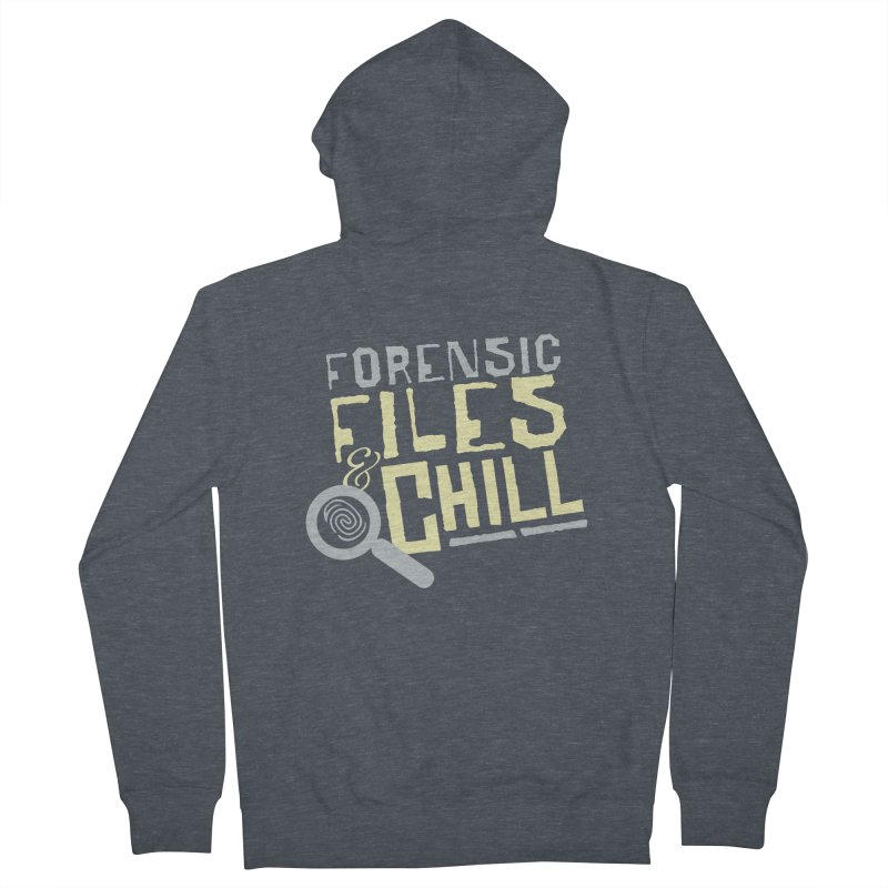 Forensic Files & Chill Men's Zip-Up Hoody by Turkeylegsray's Artist Shop