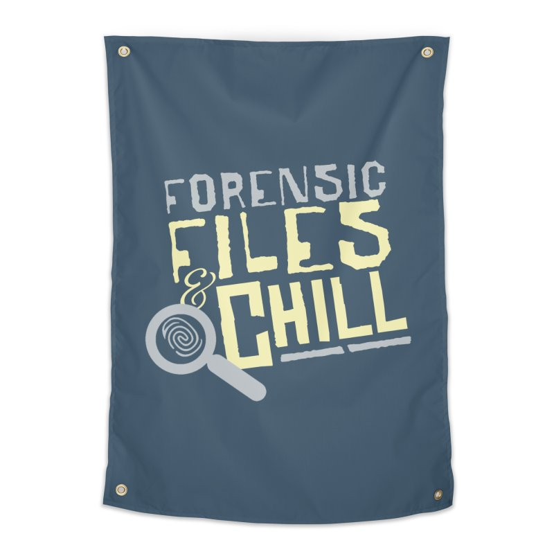 Forensic Files & Chill Home Tapestry by Turkeylegsray's Artist Shop