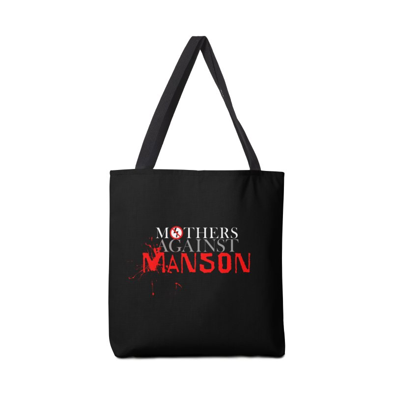 MOTHERS AGAINST MANSON! Accessories Bag by Turkeylegsray's Artist Shop