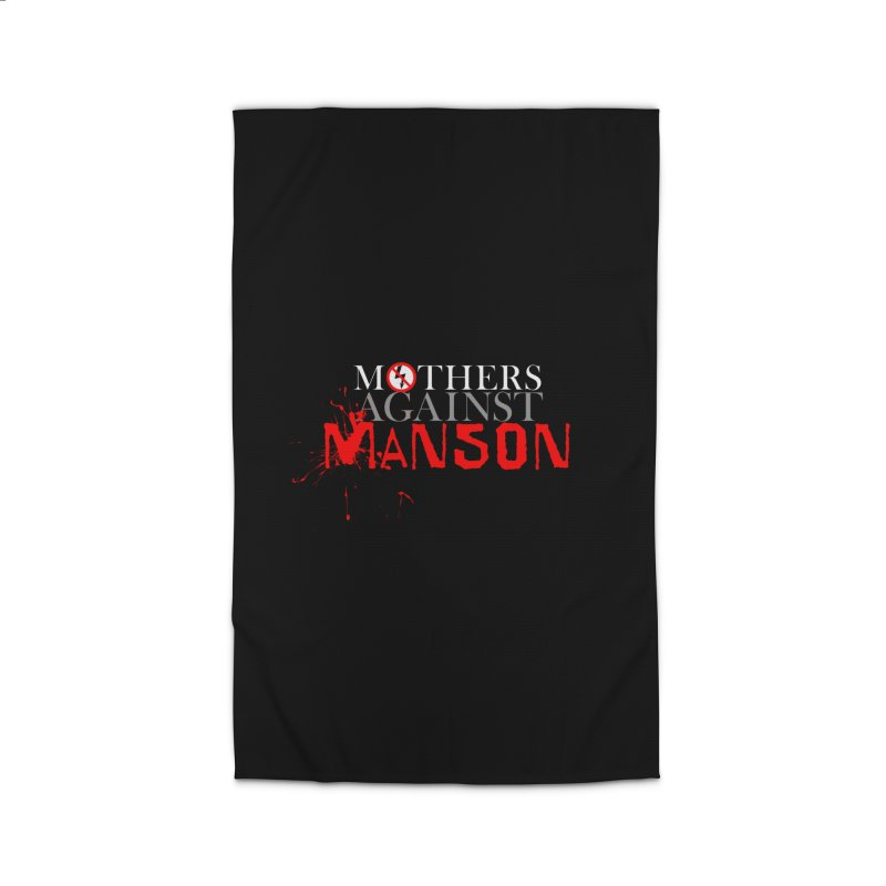 MOTHERS AGAINST MANSON! Home Rug by Turkeylegsray's Artist Shop