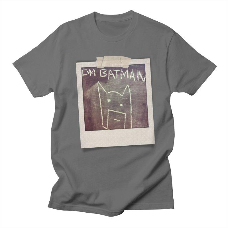 I'M BATMAN Men's T-Shirt by Turkeylegsray's Artist Shop