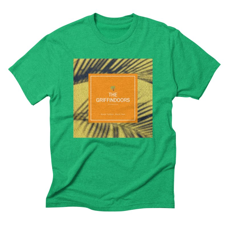"""THE GRIFFINDOORS """"Palm Trees"""" Men's Triblend T-Shirt by Turkeylegsray's Artist Shop"""