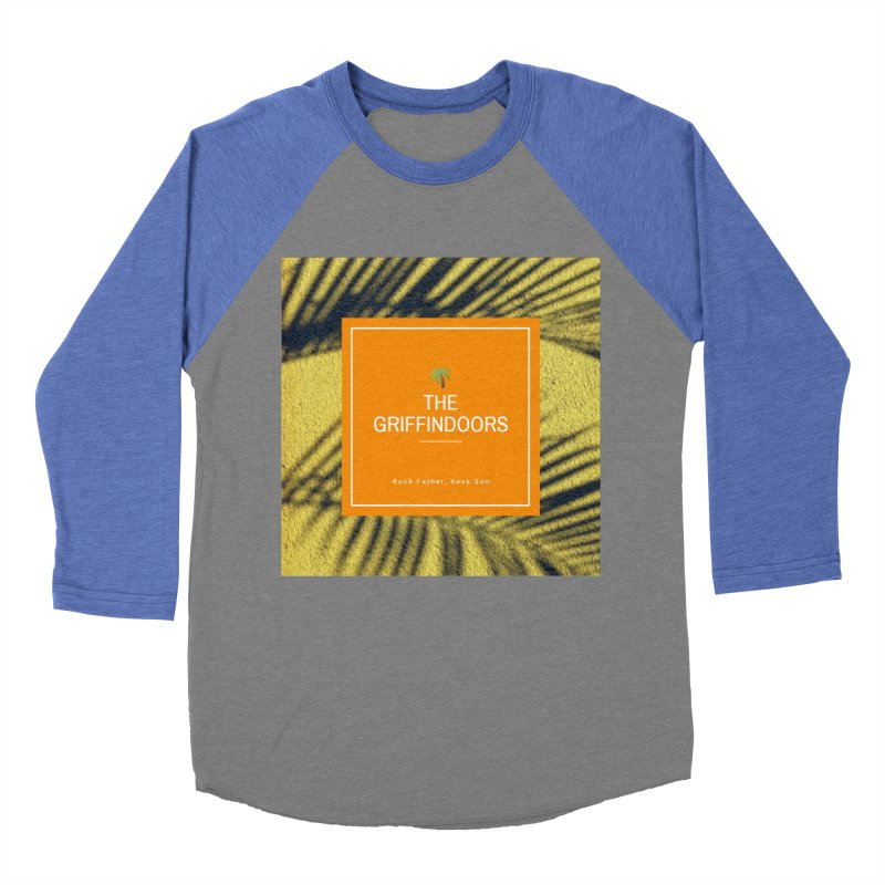 """THE GRIFFINDOORS """"Palm Trees"""" Women's Baseball Triblend T-Shirt by Turkeylegsray's Artist Shop"""