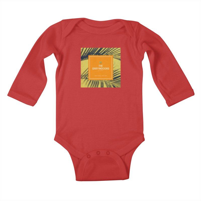 "THE GRIFFINDOORS ""Palm Trees"" Kids Baby Longsleeve Bodysuit by Turkeylegsray's Artist Shop"