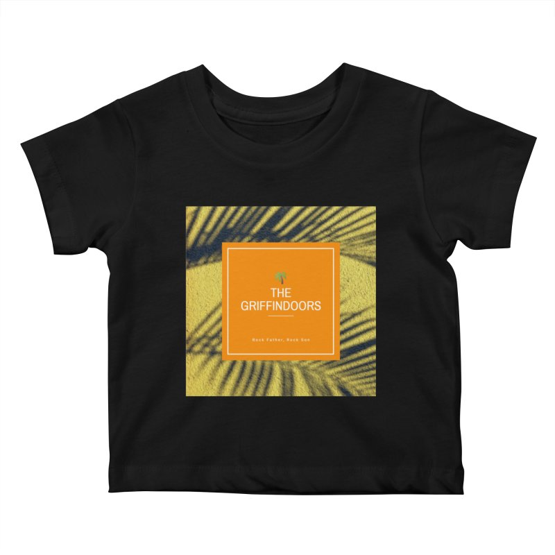 "THE GRIFFINDOORS ""Palm Trees"" Kids Baby T-Shirt by Turkeylegsray's Artist Shop"
