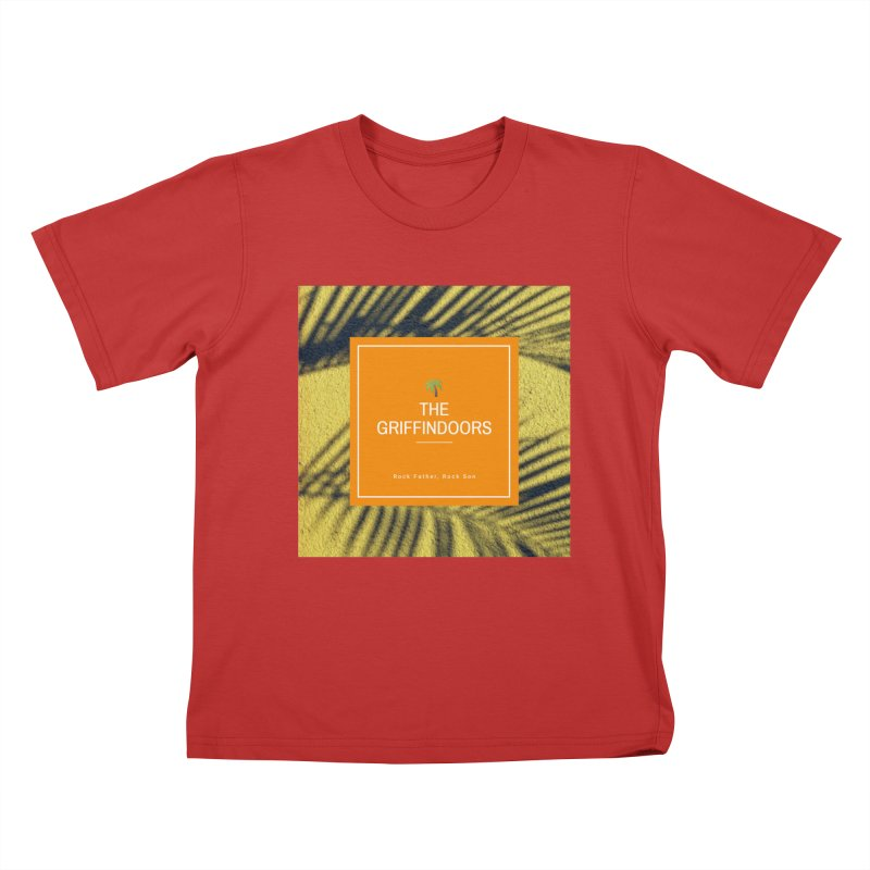 "THE GRIFFINDOORS ""Palm Trees"" Kids T-Shirt by Turkeylegsray's Artist Shop"