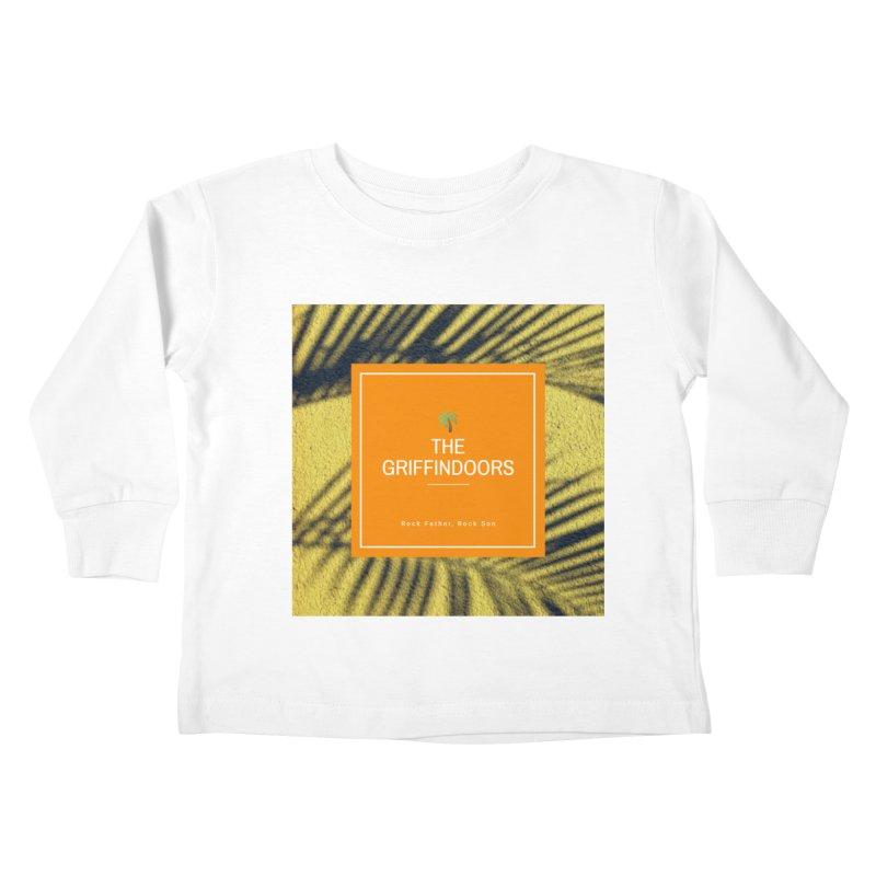 """THE GRIFFINDOORS """"Palm Trees"""" Kids Toddler Longsleeve T-Shirt by Turkeylegsray's Artist Shop"""