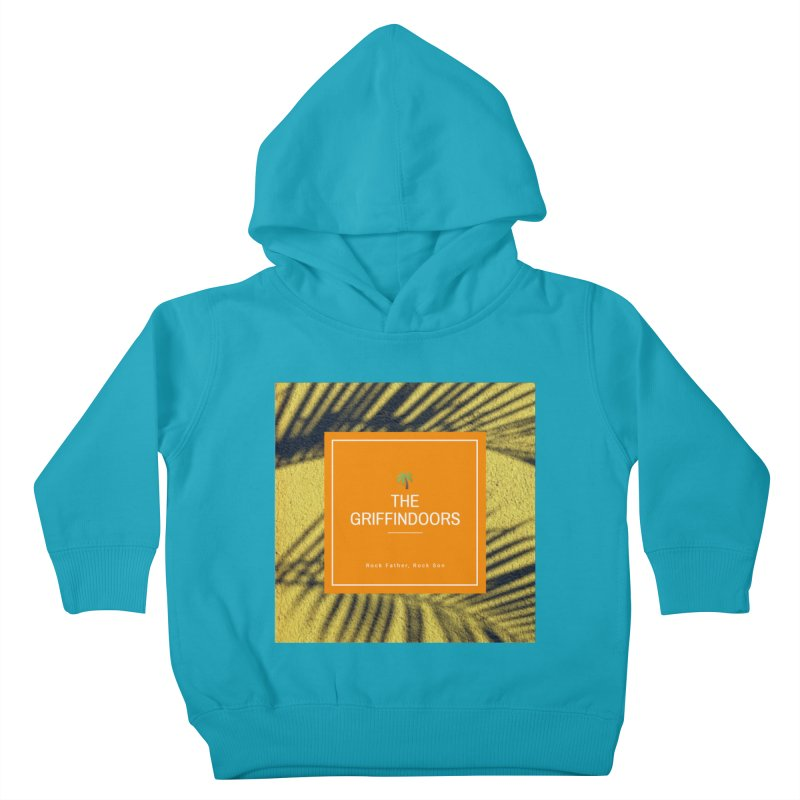 "THE GRIFFINDOORS ""Palm Trees"" Kids Toddler Pullover Hoody by Turkeylegsray's Artist Shop"