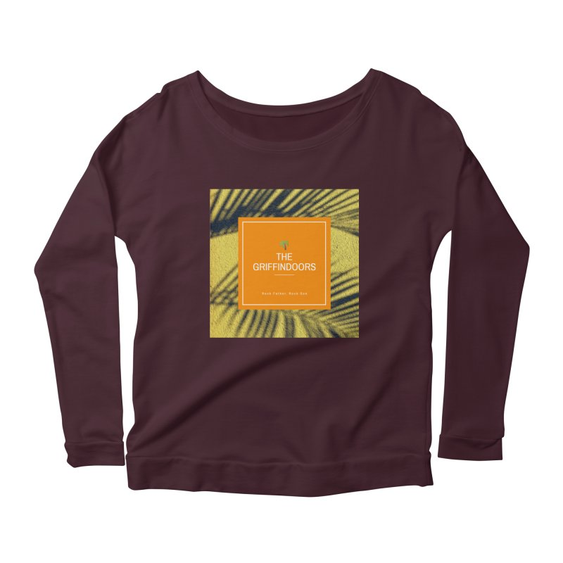 "THE GRIFFINDOORS ""Palm Trees"" Women's Longsleeve Scoopneck  by Turkeylegsray's Artist Shop"
