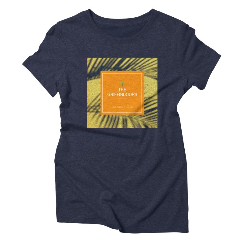 """THE GRIFFINDOORS """"Palm Trees"""" Women's Triblend T-Shirt by Turkeylegsray's Artist Shop"""