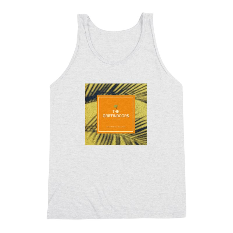 "THE GRIFFINDOORS ""Palm Trees"" Men's Triblend Tank by Turkeylegsray's Artist Shop"