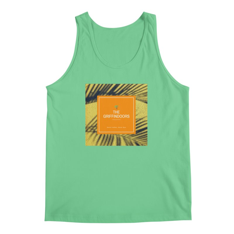 """THE GRIFFINDOORS """"Palm Trees"""" Men's Tank by Turkeylegsray's Artist Shop"""