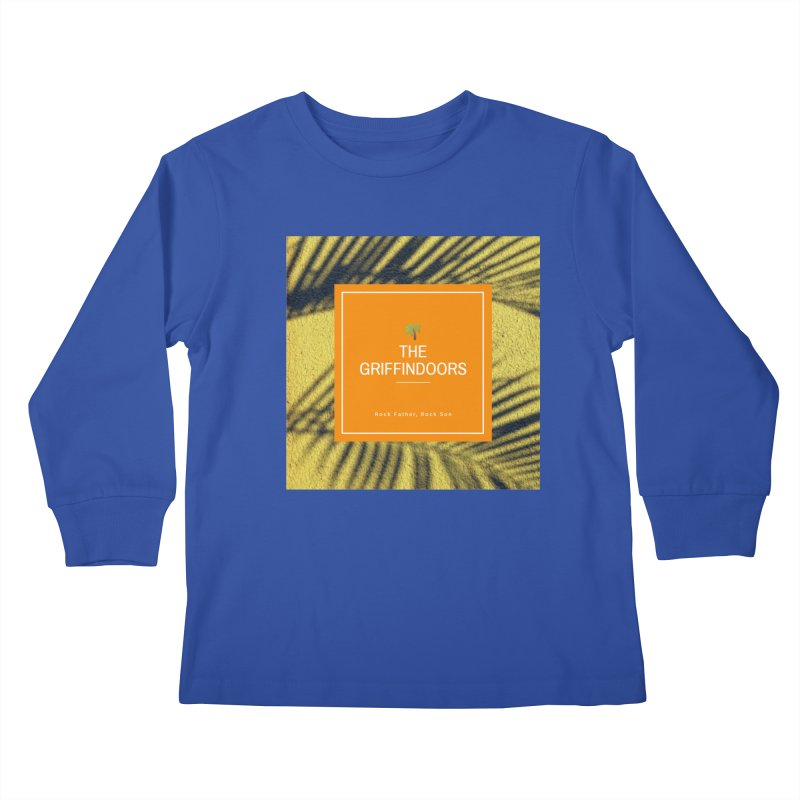 """THE GRIFFINDOORS """"Palm Trees"""" Kids Longsleeve T-Shirt by Turkeylegsray's Artist Shop"""