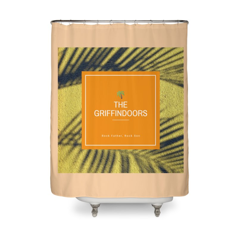"THE GRIFFINDOORS ""Palm Trees"" Home Shower Curtain by Turkeylegsray's Artist Shop"