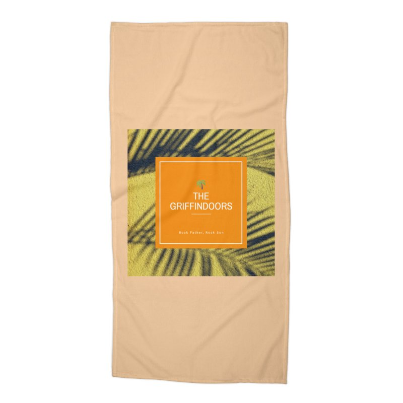 """THE GRIFFINDOORS """"Palm Trees"""" Accessories Beach Towel by Turkeylegsray's Artist Shop"""