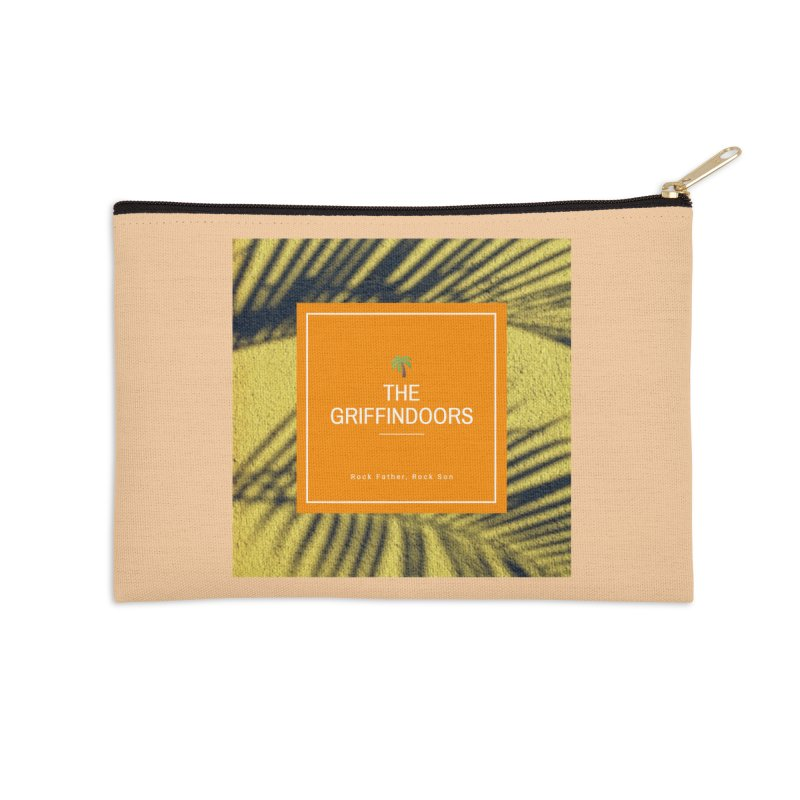 "THE GRIFFINDOORS ""Palm Trees"" Accessories Zip Pouch by Turkeylegsray's Artist Shop"