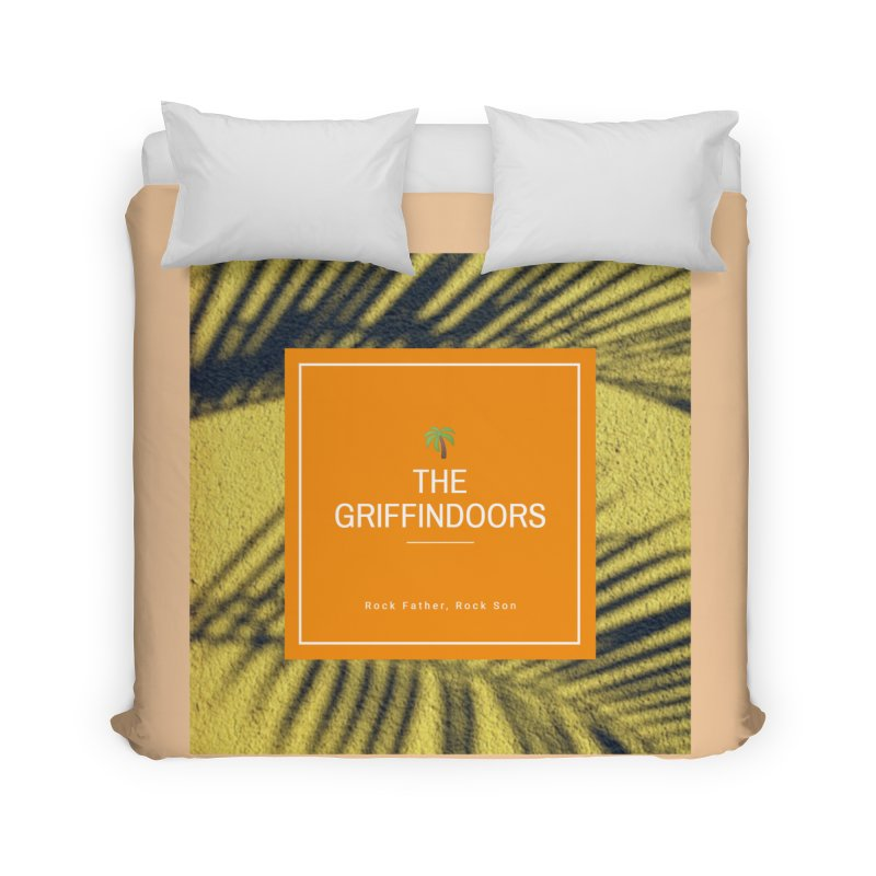 "THE GRIFFINDOORS ""Palm Trees"" Home Duvet by Turkeylegsray's Artist Shop"