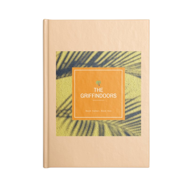 """THE GRIFFINDOORS """"Palm Trees"""" Accessories Notebook by Turkeylegsray's Artist Shop"""