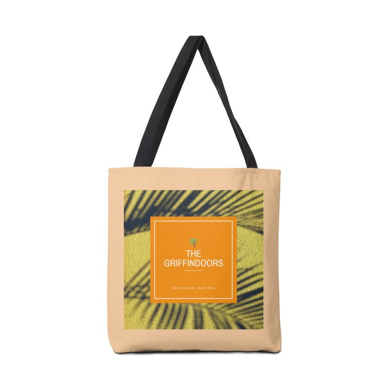 "THE GRIFFINDOORS ""Palm Trees"" Accessories Bag by Turkeylegsray's Artist Shop"