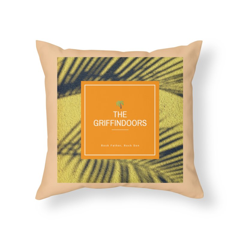 """THE GRIFFINDOORS """"Palm Trees"""" Home Throw Pillow by Turkeylegsray's Artist Shop"""